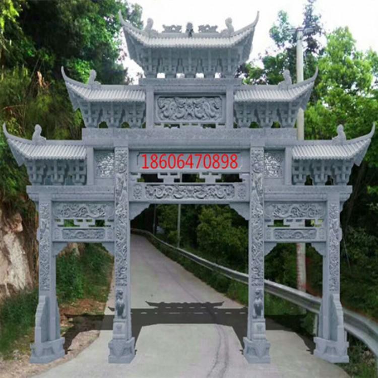 贵州石牌坊步行街牌楼好口碑