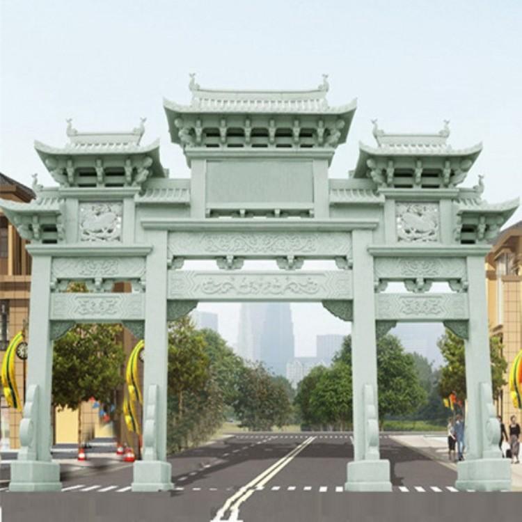 贵州宗祠牌坊步行街牌楼好口碑