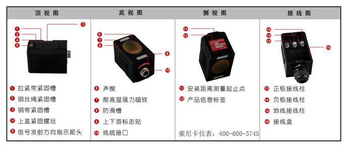 超声波流量计外夹式传感器详解