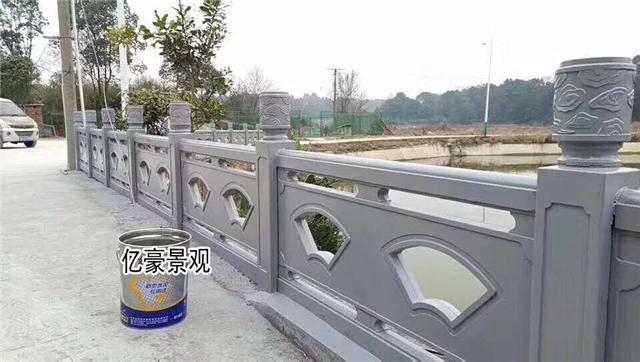 厦门思明河道仿石护栏