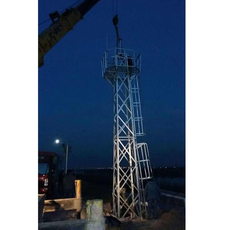 厂家供应气象监控塔 环境监测塔 监控塔直销