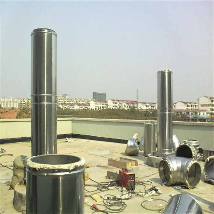 耐腐蚀不锈钢烟囱 火炬塔烟囱塔 不锈钢烟囱厂家 林东