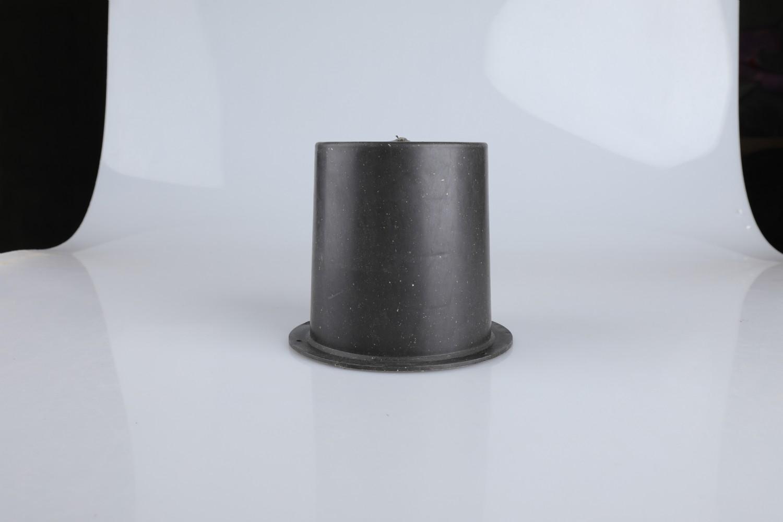 PE材质预埋套筒价格 密封性强 一次性预埋黑桶 规格专用齐全
